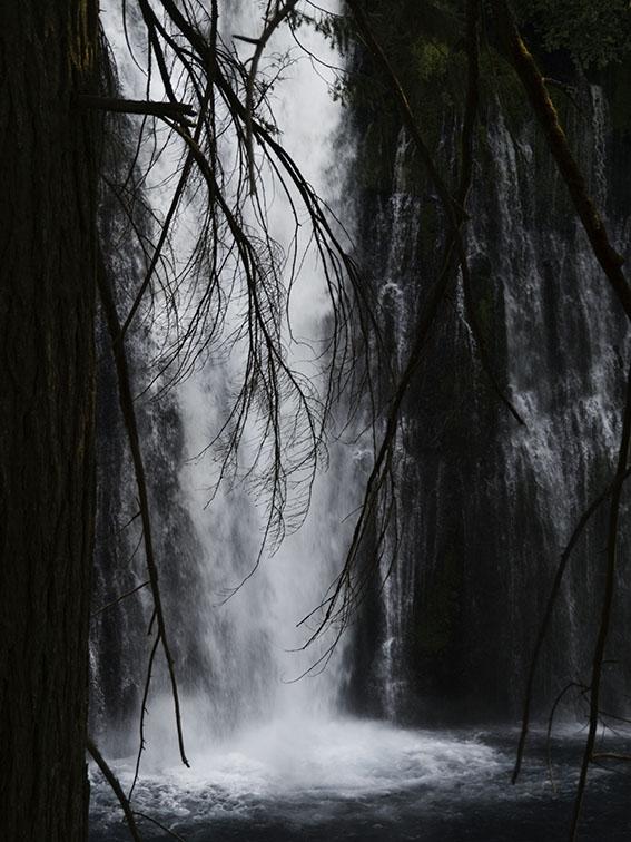 <B>The Falls</B> <BR><FONT SIZE=2>Burney, California - September, 2008</FONT>