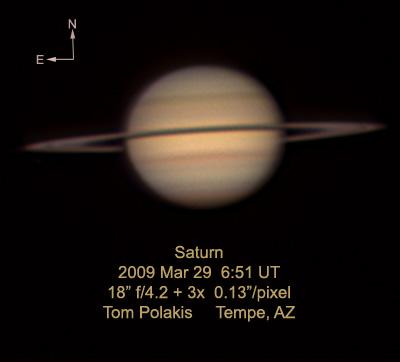 Saturn: 3/29/09