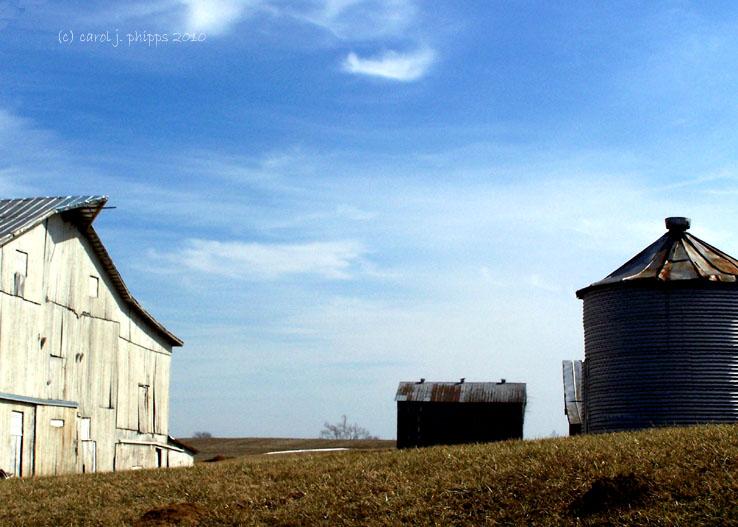 Three Barns.
