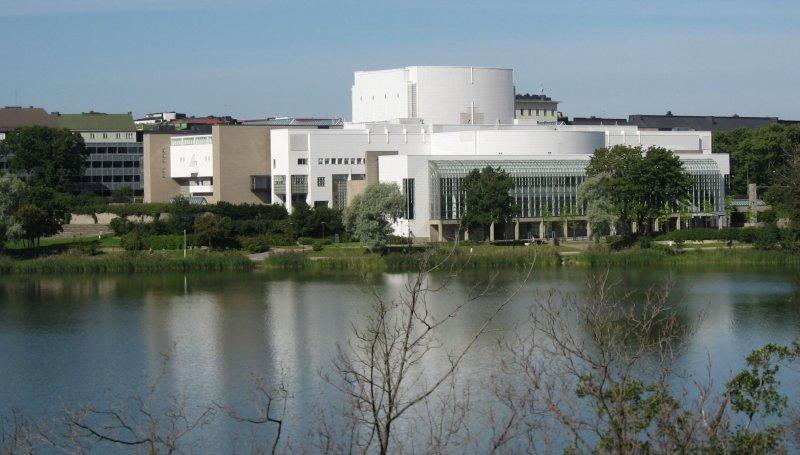 Finnish National Opera, Opera House, Helsinki
