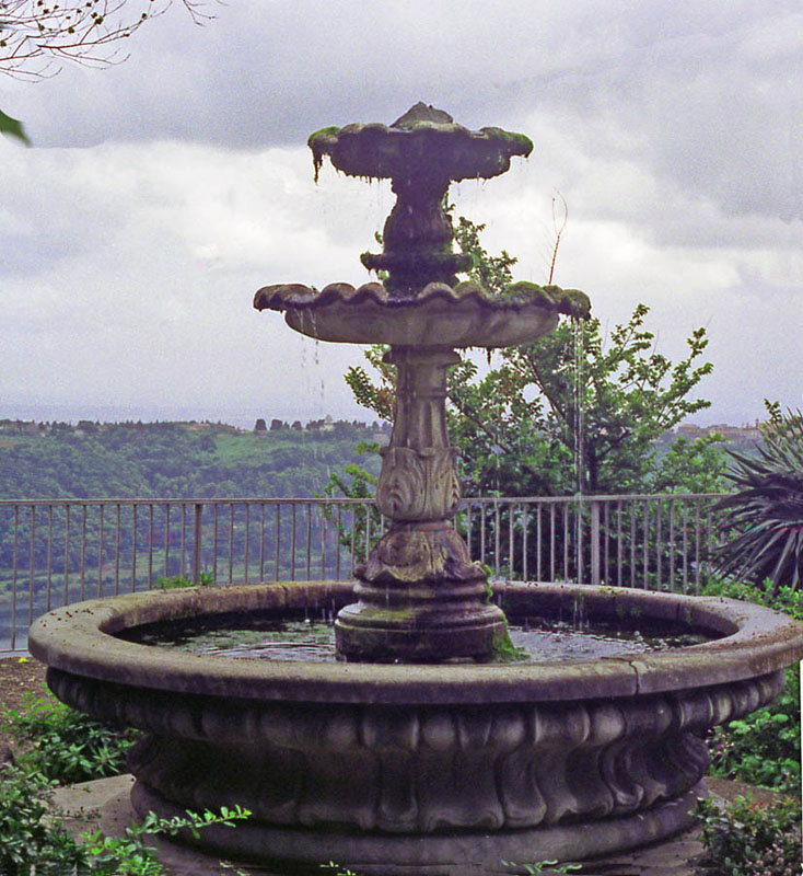 Fountain at Nemi