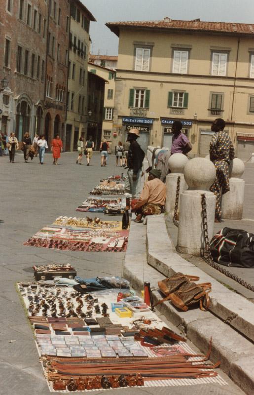 Gucci Bags and Black Vendors