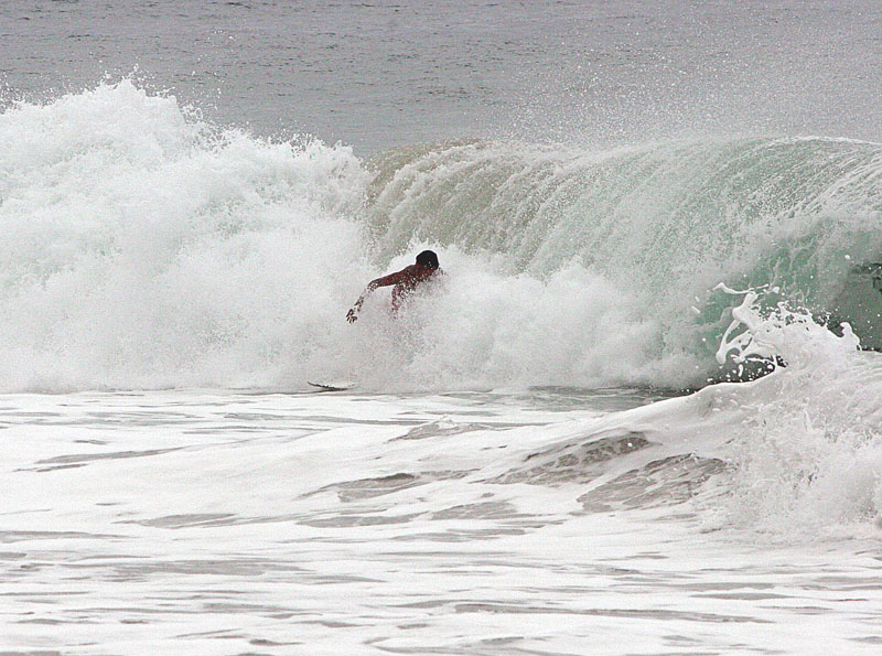 Surfer crouch