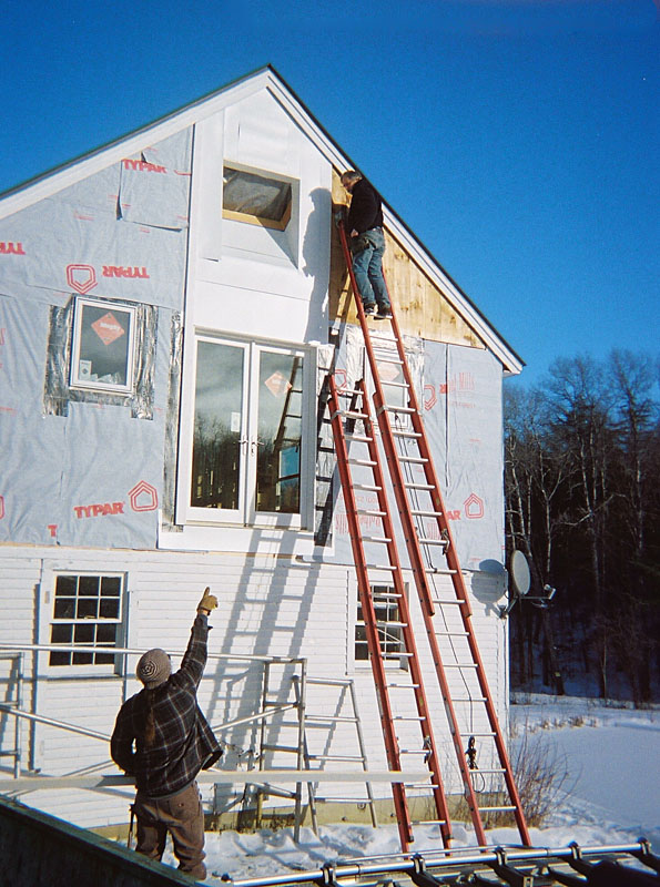Sealing the house