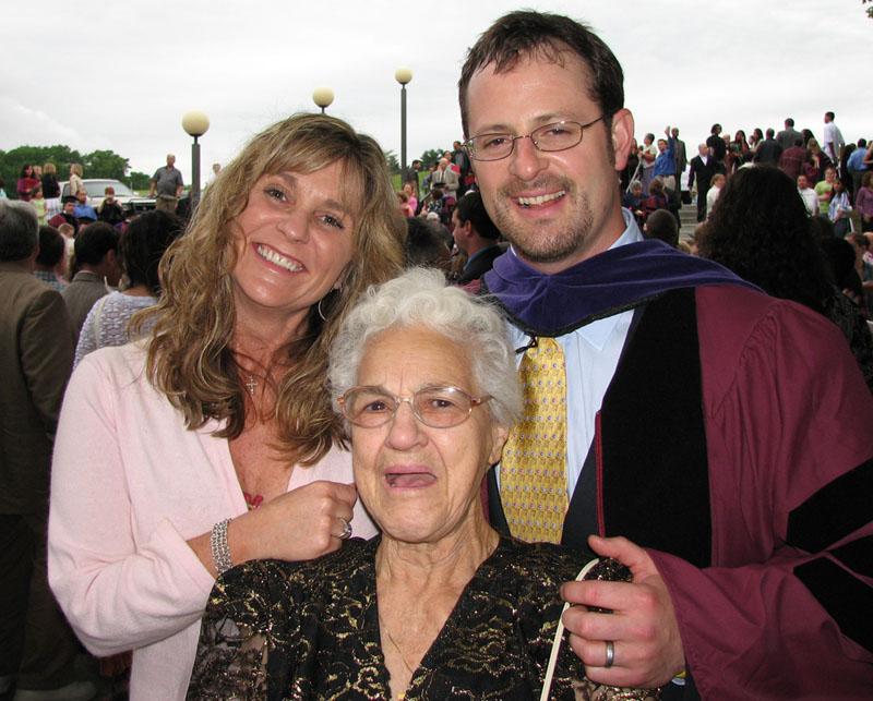 Julie, Christian and Loretta