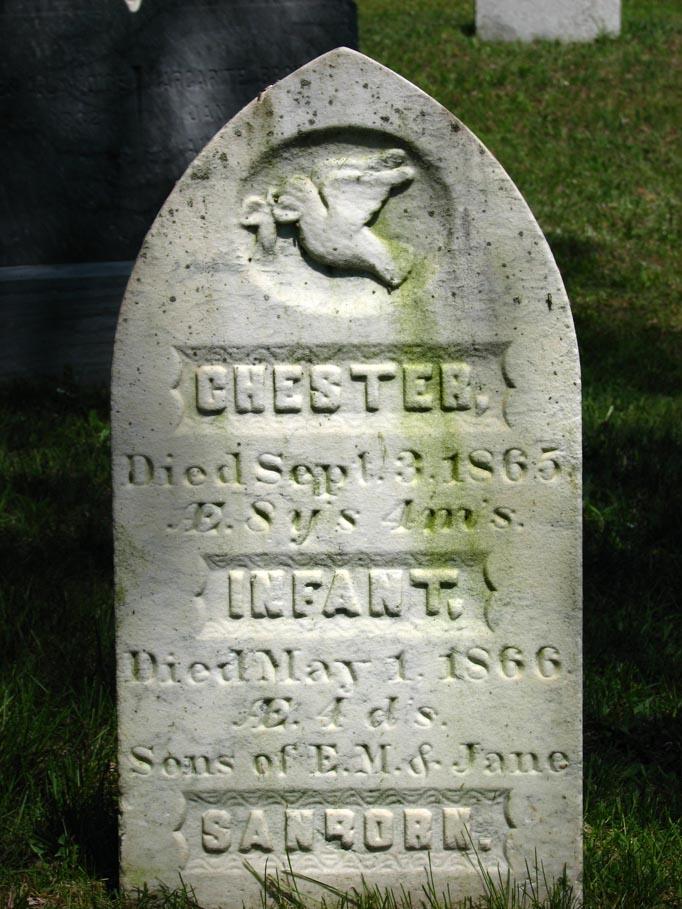 Infant Grave Marker
