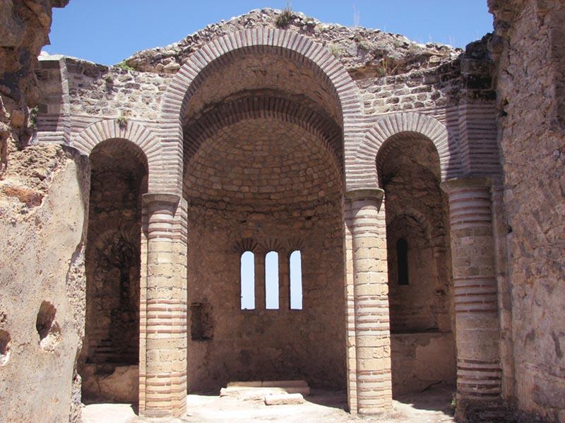 Byzantine chapel inside the castle