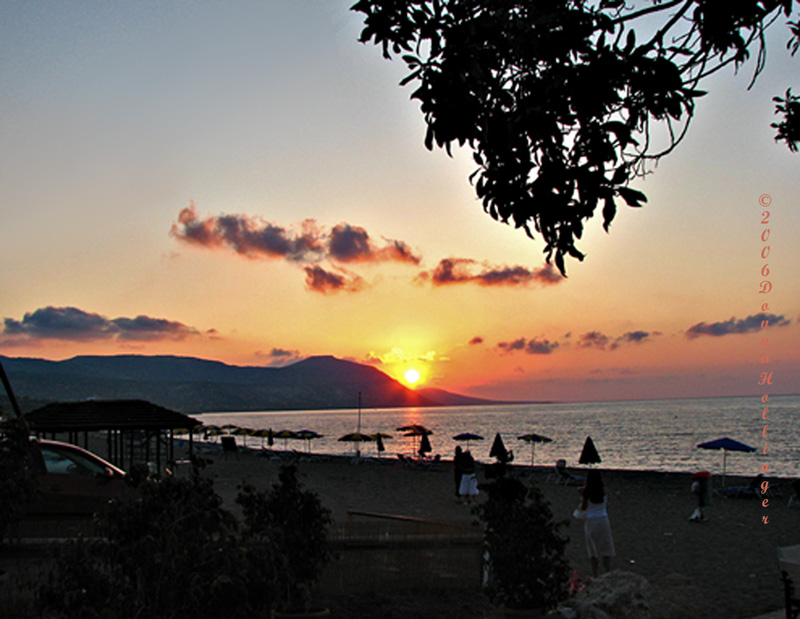 Polis Beach Sunset