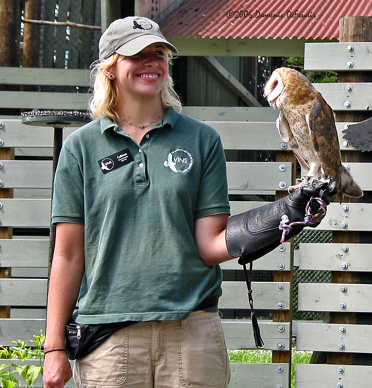 Colleen and the Barn Owl