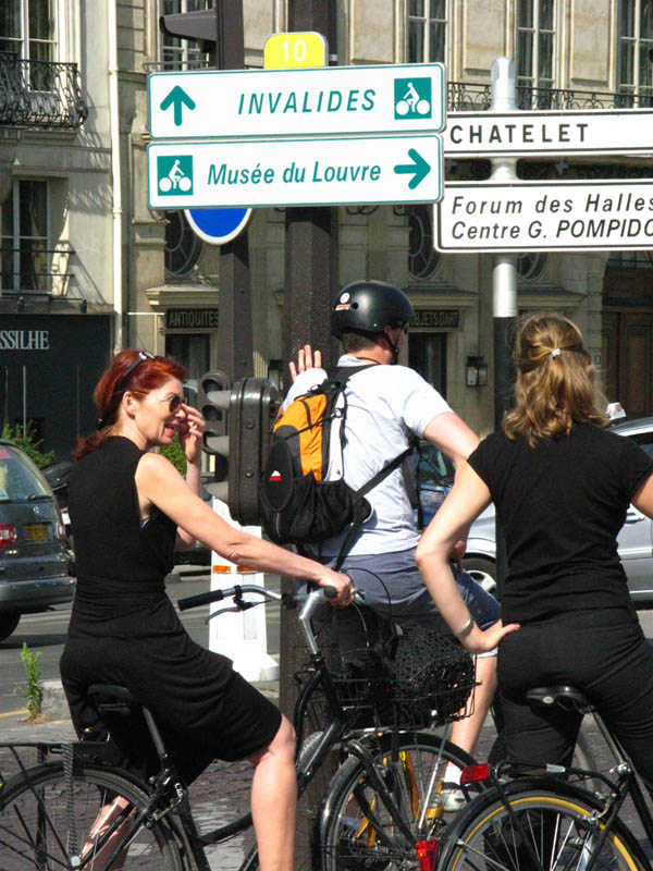 On My Way to the Louvre