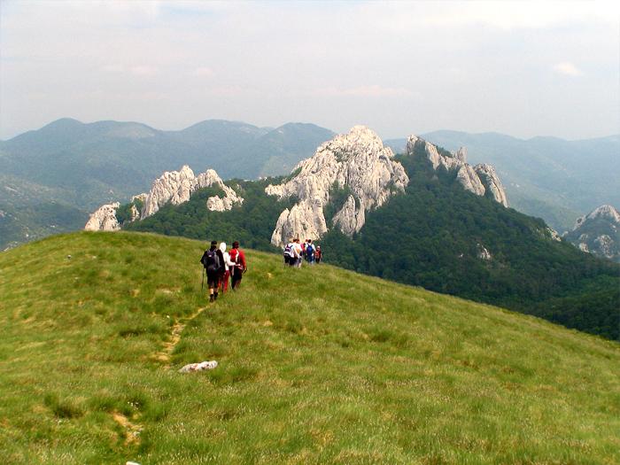 Central Velebit - Bacica kuk from Budakovo brdo