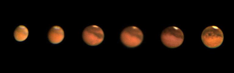 Mars series, 2003