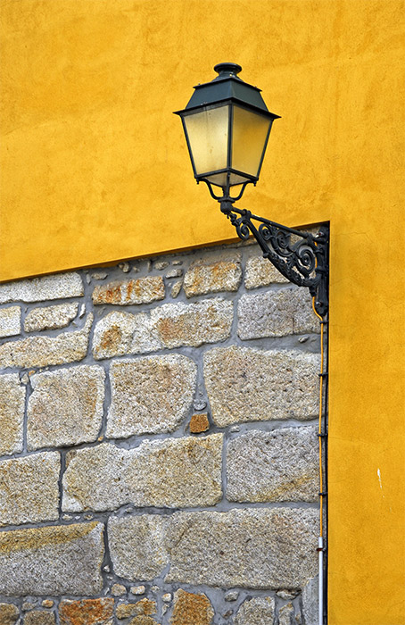The Lamp, the Yellow Wall and the Granite