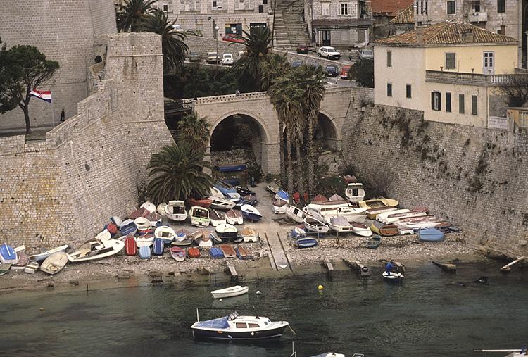Ancient boat yard