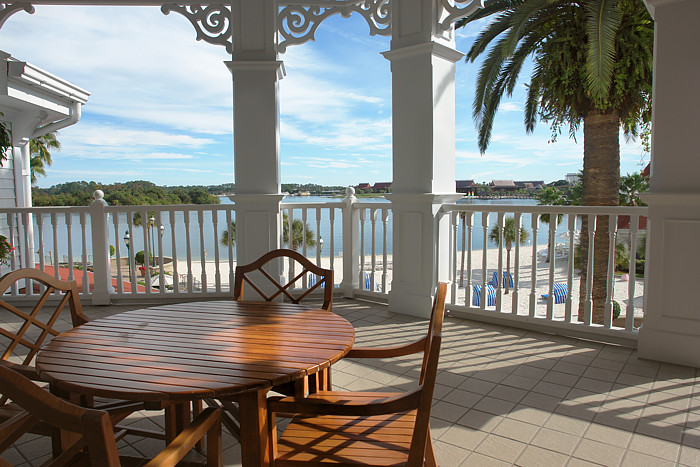 <b>Patio View</b><br><font size=2>Grand Floridian Resort