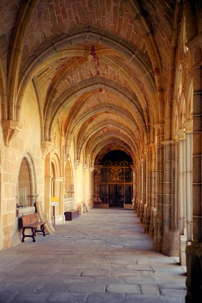 Avila Cathedral cloister
