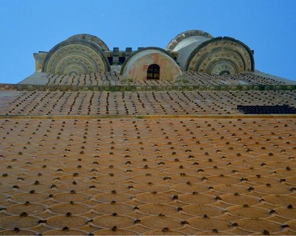 Segovia Alcazar wall