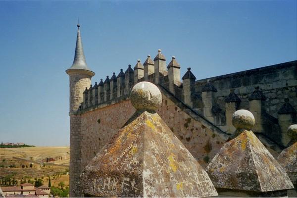 Segovia Alcazar towers