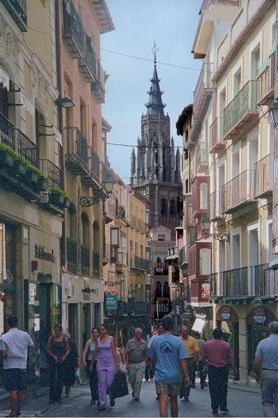 Toledo downtown street