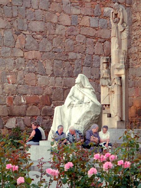 St Theresa Statue, Avila