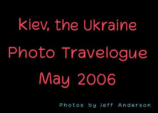 Kiev, the Ukraine cover page.