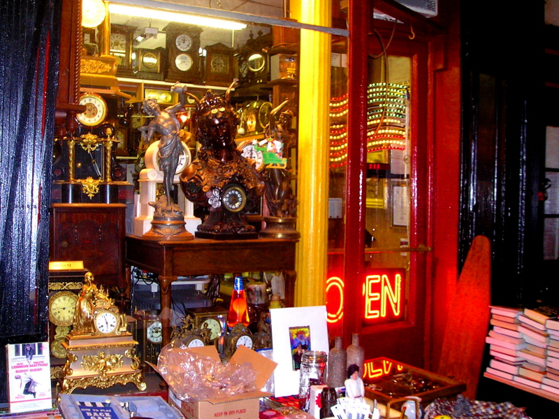 A West Village store window