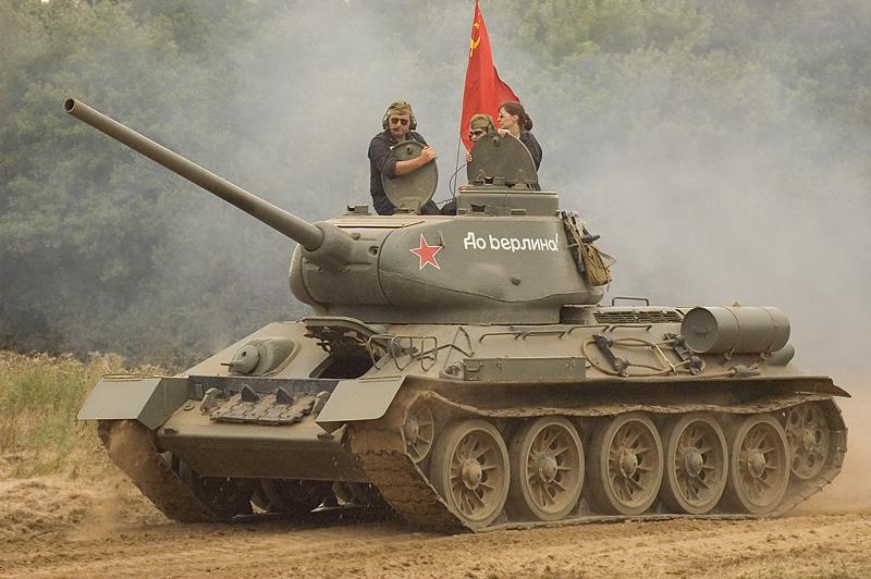 1940s Soviet T34 Medium Tank