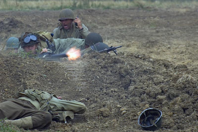 US GIs avenge fallen comrade