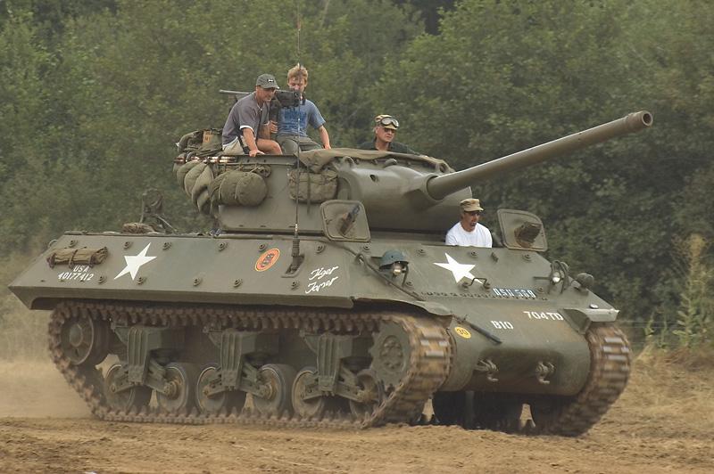 1944 British M10 Archilles Tank Destroyer