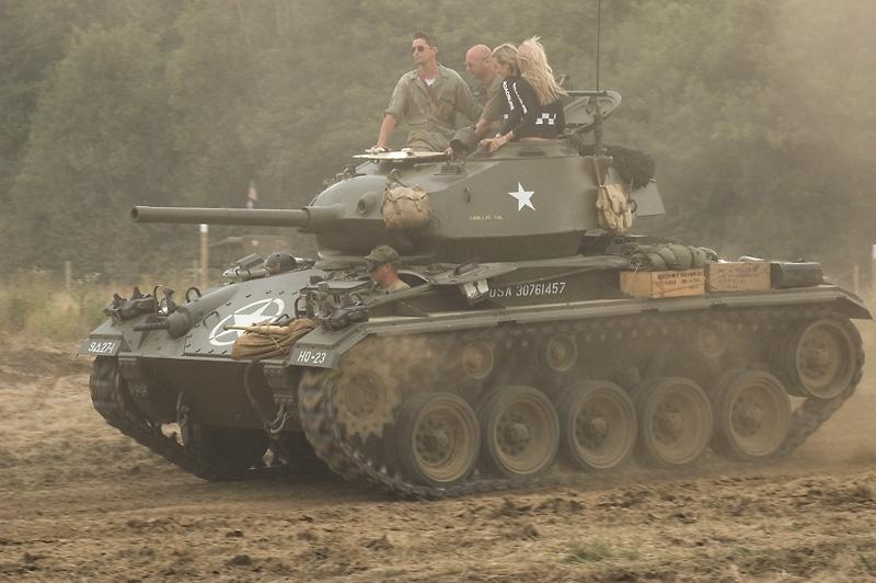 1944 US M24 Chaffee Light Tank
