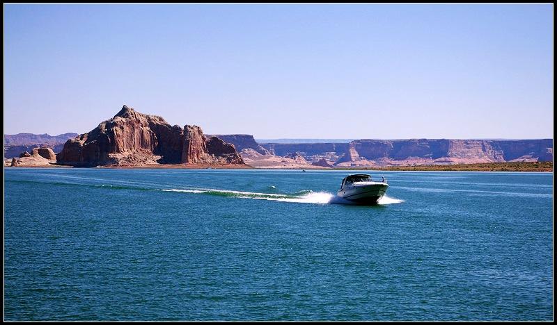 美西八日之旅(二)鲍威尔湖 Lake Powell - netliuying - netliuying的博客