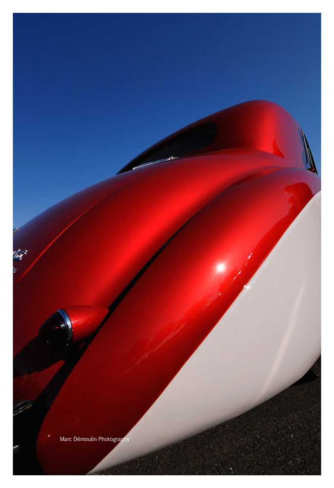 Delahaye 135MS Coupe Sport 1947, Poitiers 2007