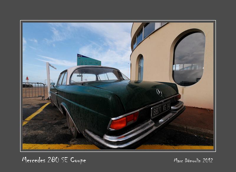 MERCEDES 280 SEC Trouville-sur-Mer - France