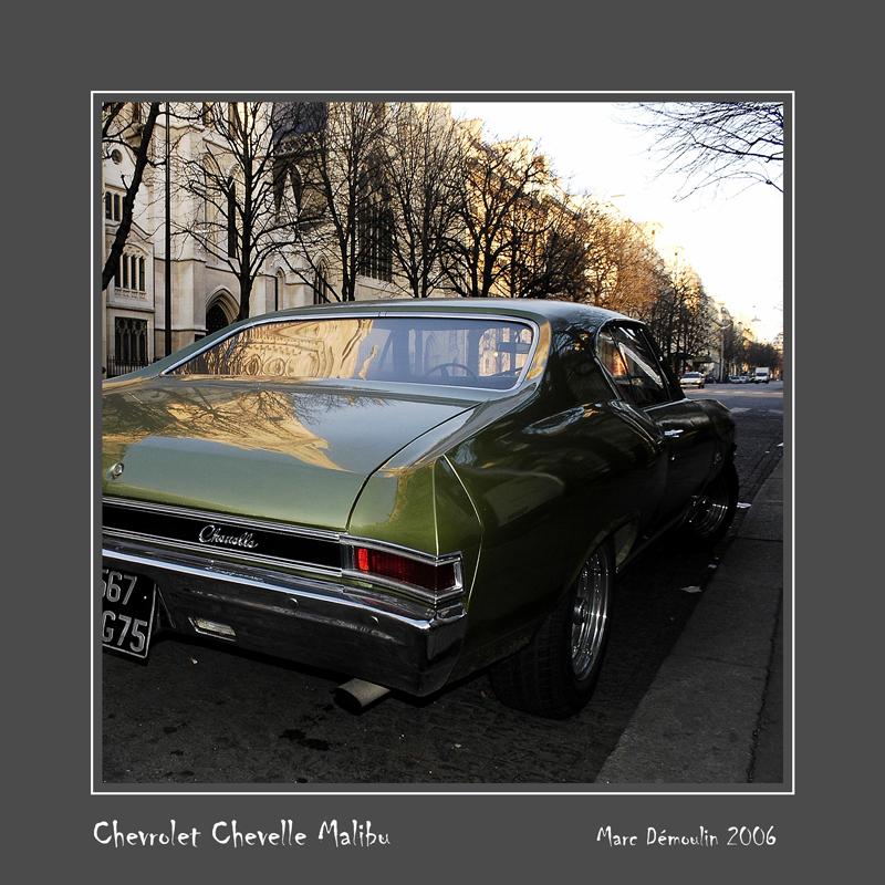 CHEVROLET Chevelle Malibu Paris - France
