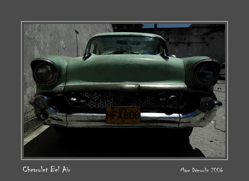 CHEVROLET Bel Air La Habana - Cuba