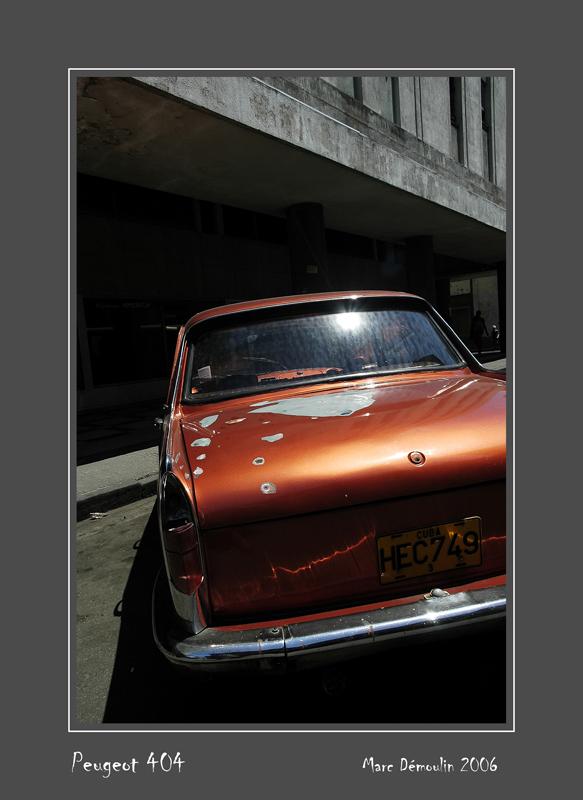 PEUGEOT 404 La Habana - Cuba