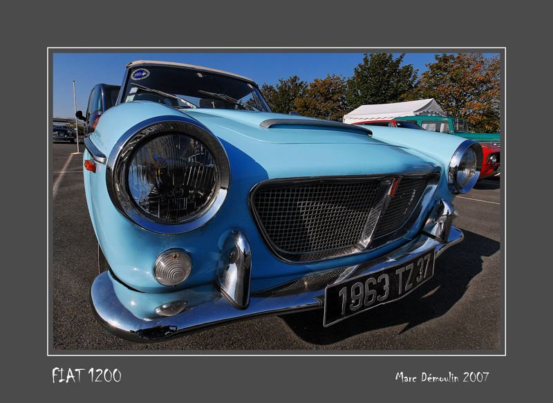 FIAT 1200 Poitiers - France