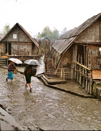 Apatani village Bela