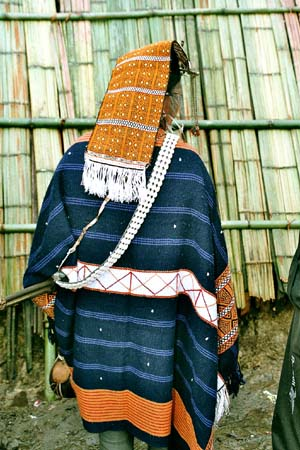 Myoko Priest´s Attire. Apatani tribe