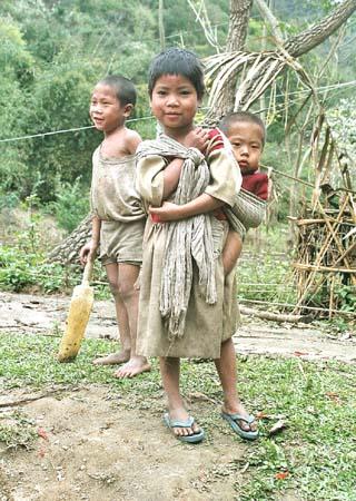 Hill Miri children