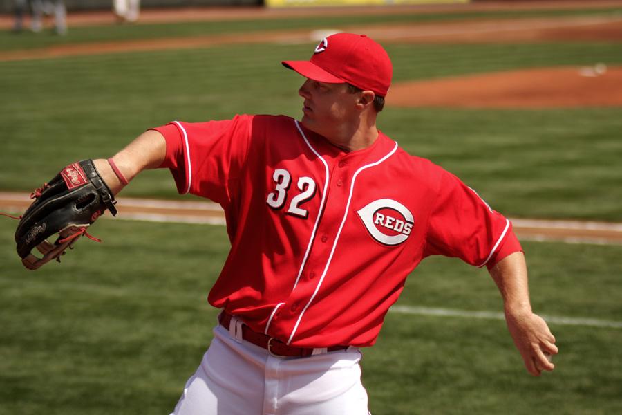 Cincinnati Reds right fielder Jay Bruce