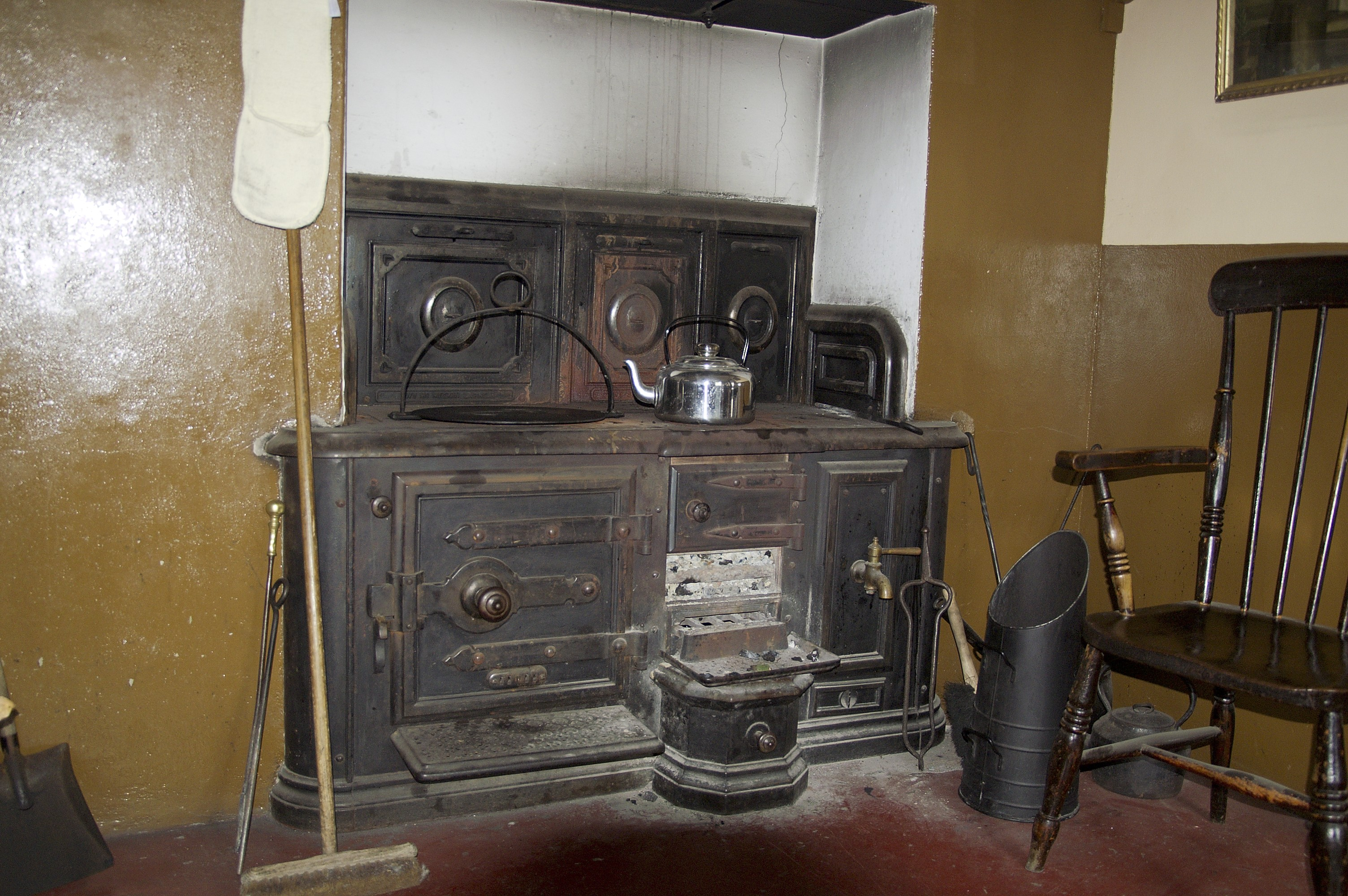 The priest obviously had a better kitchen than most!