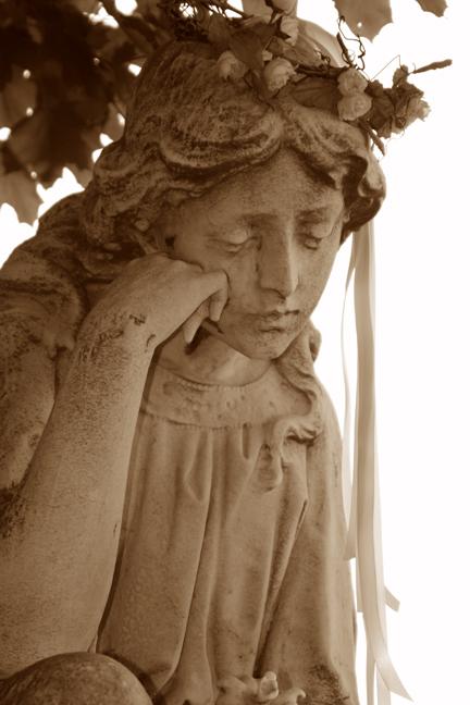 sepia angel...