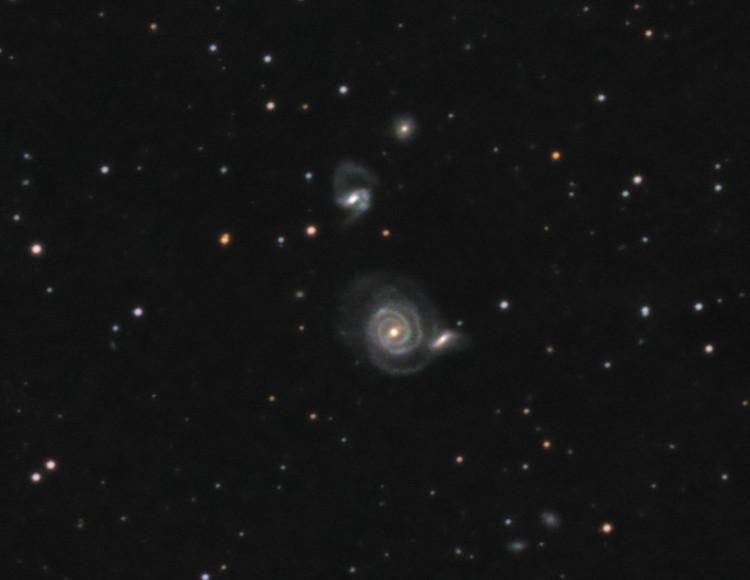NGC 5752/4<br>(Arp 297)