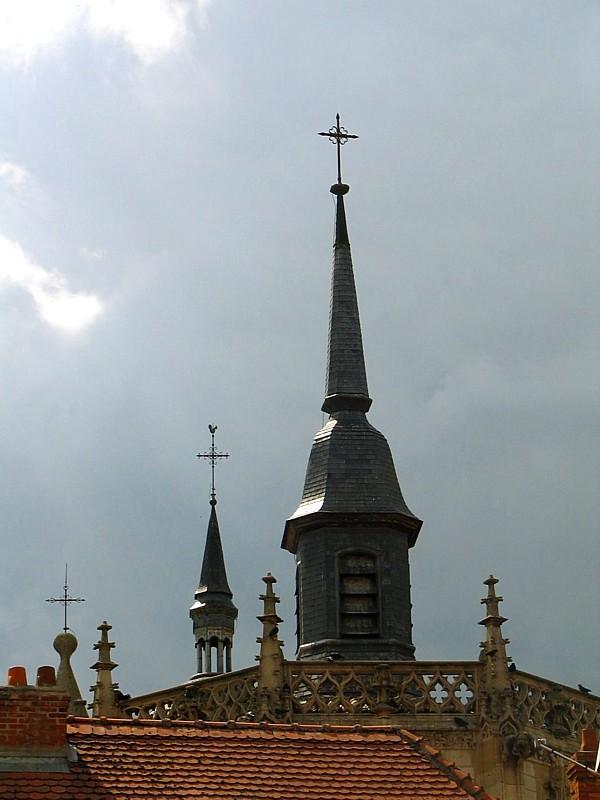 clocher en Lorraine