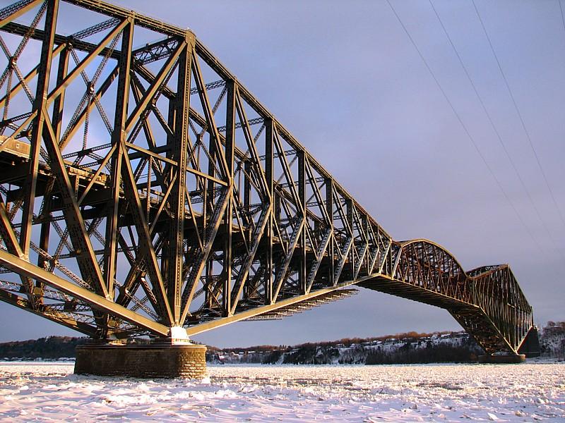 le vieux pont de Québec