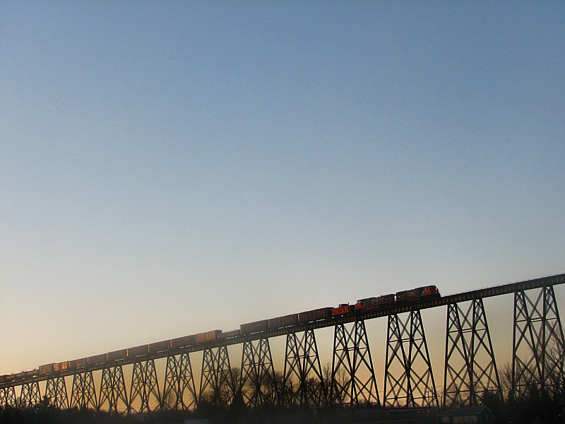CN sur le traxel