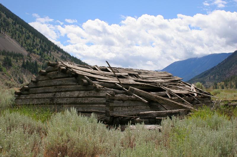 Bridge River Log Cabin Ruins