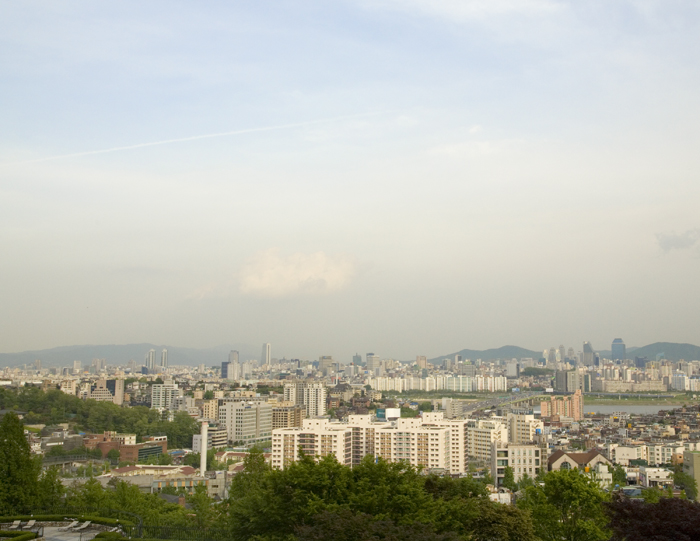 Seoul from Namsan area
