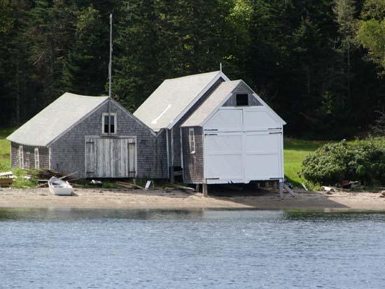 Boat Houses - Great Spruce Head Island